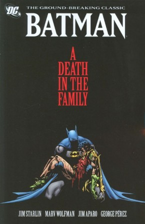 BATMAN A DEATH IN THE FAMILY GRAPHIC NOVEL