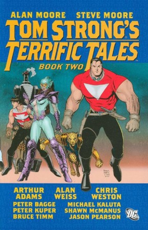 TOM STRONGS TERRIFIC TALES BOOK 2 GRAPHIC NOVEL