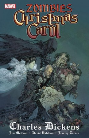 ZOMBIES CHRISTMAS CAROL HARDCOVER