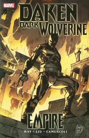 DAKEN DARK WOLVERINE EMPIRE GRAPHIC NOVEL
