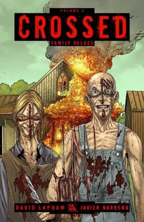 CROSSED VOLUME 2 FAMILY VALUES GRAPHIC NOVEL