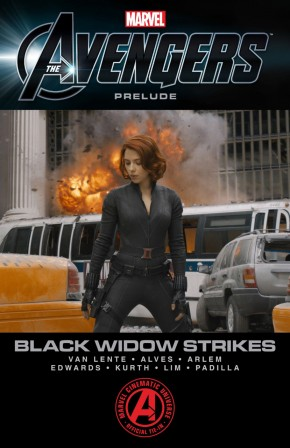 Marvels The Avengers Black Widow Strikes Graphic Novel