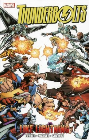THUNDERBOLTS LIKE LIGHTNING GRAPHIC NOVEL