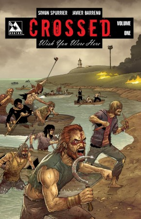 CROSSED WISH YOU WERE HERE VOLUME 1 GRAPHIC NOVEL