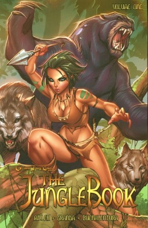 Grimm Fairy Tales Jungle Book Volume 1 Graphic Novel