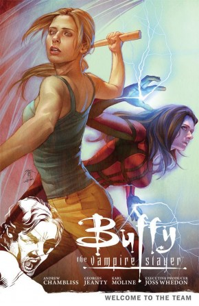 BUFFY THE VAMPIRE SLAYER SEASON 9 VOLUME 4 WELCOME TO THE TEAM GRAPHIC NOVEL