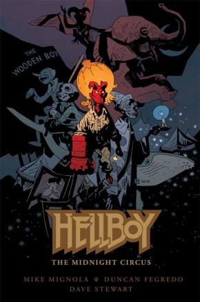 HELLBOY THE MIDNIGHT CIRCUS HARDCOVER