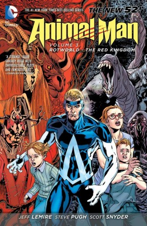 ANIMAL MAN VOLUME 3 ROTWORLD THE RED KINGDOM GRAPHIC NOVEL