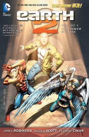 EARTH 2 VOLUME 2 THE TOWER OF FATE HARDCOVER