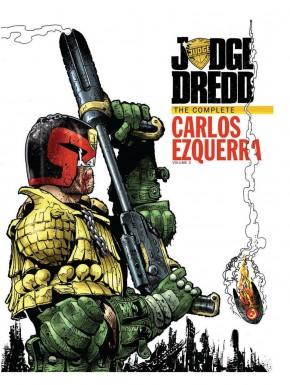 JUDGE DREDD COMPLETE CARLOS EZQUERRA VOLUME 2 HARDCOVER
