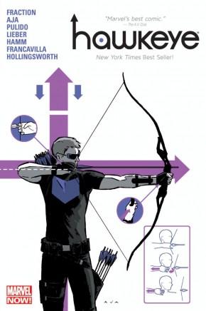 HAWKEYE VOLUME 1 DELUXE EDITION HARDCOVER