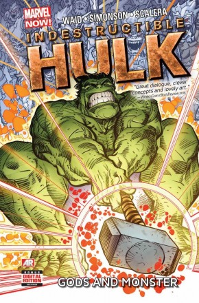 INDESTRUCTIBLE HULK VOLUME 2 GODS AND MONSTER HARDCOVER