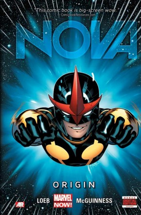 NOVA VOLUME 1 ORIGIN HARDCOVER