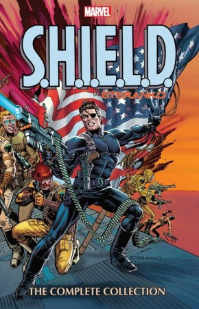 SHIELD BY STERANKO THE COMPLETE COLLECTION GRAPHIC NOVEL