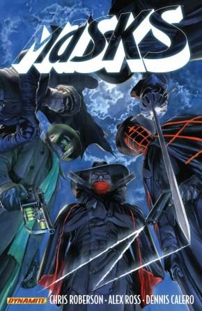 MASKS VOLUME 1 GRAPHIC NOVEL