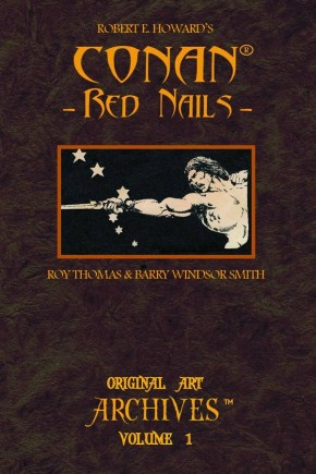 CONAN RED NAILS ORIGINAL ART ARCHIVES HARDCOVER
