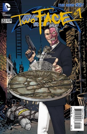 BATMAN AND ROBIN #23.1 TWO FACE (STANDARD EDITION)