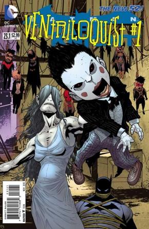 BATMAN THE DARK KNIGHT #23.1 (2011 SERIES) VENTRILOQUIST STANDARD COVER