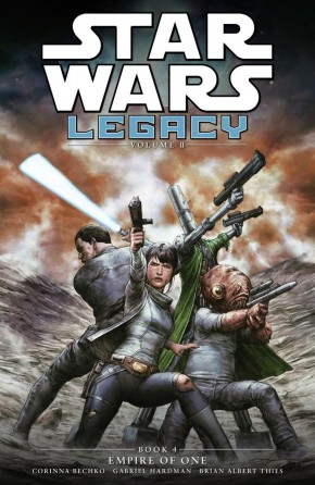 STAR WARS LEGACY II VOLUME 4 EMPIRE OF ONE GRAPHIC NOVEL