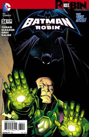 BATMAN AND ROBIN #34 (2011 SERIES)