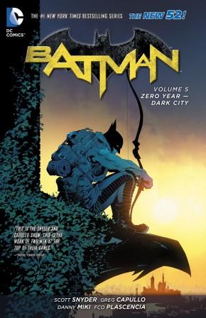 BATMAN VOLUME 5 ZERO YEAR DARK CITY HARDCOVER
