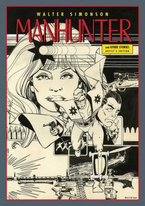 WALTER SIMONSON MANHUNTER ARTIST EDITION HARDCOVER