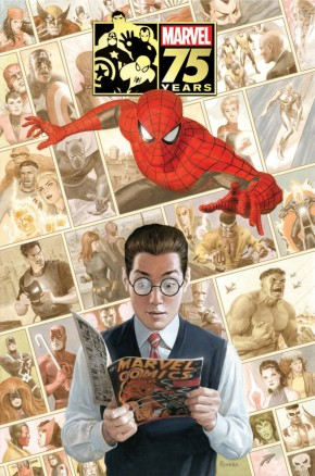 Marvel 75th Anniversary Omnibus Hardcover