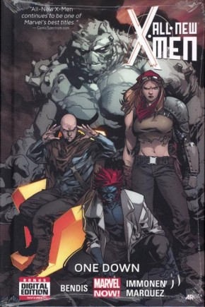 ALL NEW X-MEN VOLUME 5 ONE DOWN HARDCOVER