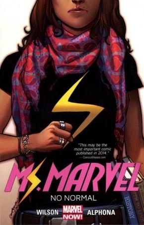 MS MARVEL VOLUME 1 NO NORMAL GRAPHIC NOVEL