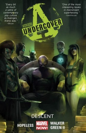AVENGERS UNDERCOVER VOLUME 1 DESCENT GRAPHIC NOVEL
