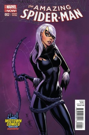AMAZING SPIDER-MAN #2 (2014 SERIES) MIDTOWN COMICS VARIANT