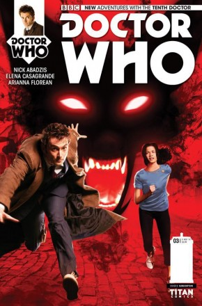 DOCTOR WHO 10TH DOCTOR #3 (2014 SERIES) SUBSCRIPTION VARIANT