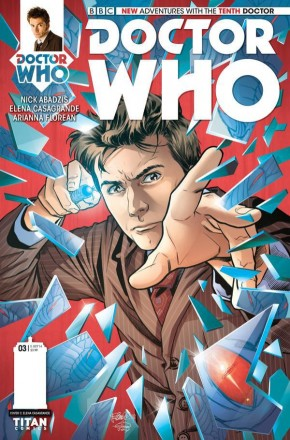 DOCTOR WHO 10TH DOCTOR #3 (2014 SERIES) 1 IN 10 INCENTIVE VARIANT