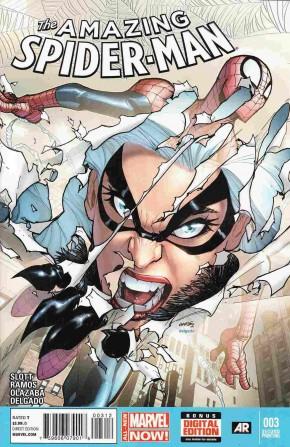 AMAZING SPIDER-MAN #3 (2014 SERIES) 2ND PRINTING