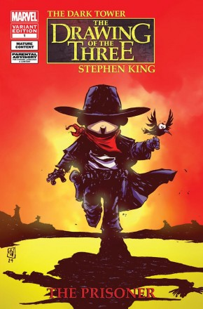 DARK TOWER THE DRAWING OF THE THREE THE PRISONER #1 (SKOTTIE YOUNG BABY VARIANT)