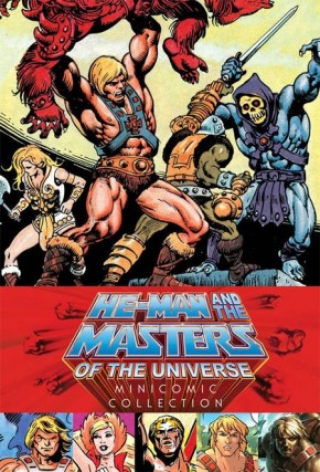 HE-MAN AND THE MASTERS OF THE UNIVERSE MINICOMIC COLLECTION HARDCOVER