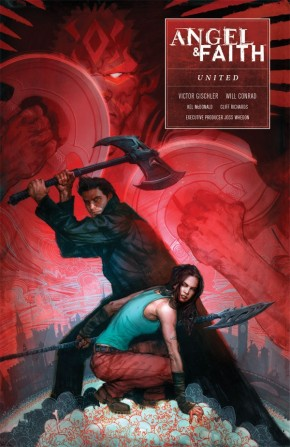 ANGEL AND FAITH SEASON 10 VOLUME 3 UNITED GRAPHIC NOVEL