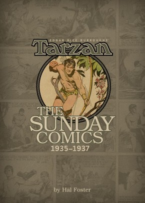 BURROUGHS TARZAN SUNDAY COMICS 1935-1937 VOLUME 3 ARTIST EDITION HARDCOVER