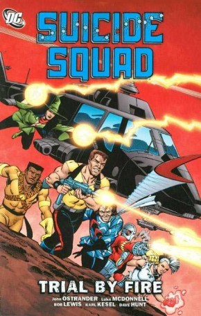 SUICIDE SQUAD VOLUME 1 TRIAL BY FIRE GRAPHIC NOVEL