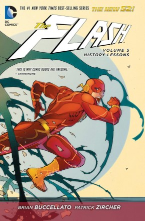 FLASH VOLUME 5 HISTORY LESSONS GRAPHIC NOVEL