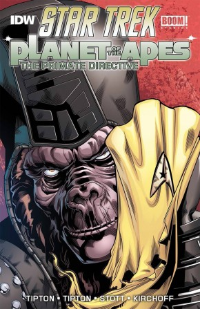 STAR TREK PLANET OF THE APES PRIMATE DIRECTIVE GRAPHIC NOVEL