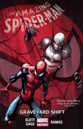 AMAZING SPIDER-MAN VOLUME 4 GRAVEYARD SHIFT GRAPHIC NOVEL
