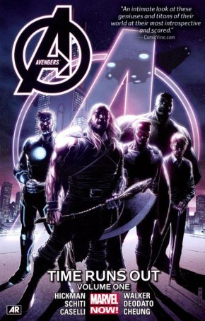 AVENGERS TIME RUNS OUT VOLUME 1 GRAPHIC NOVEL