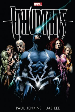 INHUMANS BY PAUL JENKINS AND JAE LEE GRAPHIC NOVEL
