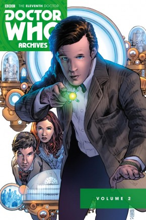 DOCTOR WHO 11TH ARCHIVES OMNIBUS VOLUME 2 GRAPHIC NOVEL