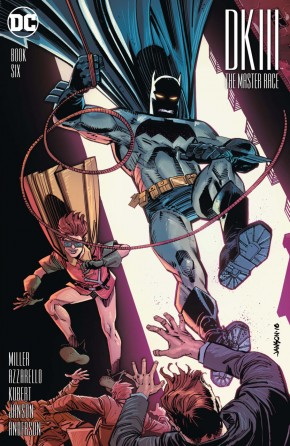 DARK KNIGHT III MASTER RACE #6 JANSON 1 IN 25 INCENTIVE VARIANT EDITION