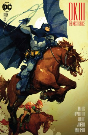 DARK KNIGHT III MASTER RACE #6 TOCCHINI 1 IN 50 INCENTIVE VARIANT EDITION