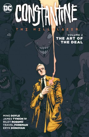 CONSTANTINE THE HELLBLAZER VOLUME 2 THE ART OF THE DEAL GRAPHIC NOVEL