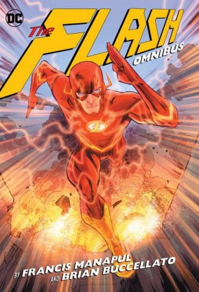 FLASH BY MANAPUL AND BUCCELLATO OMNIBUS HARDCOVER