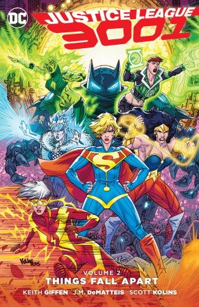 JUSTICE LEAGUE 3001 VOLUME 2 THINGS FALL APART GRAPHIC NOVEL